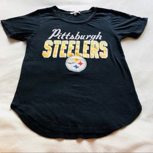 XS 🖤 Junk Food Pittsburgh Steelers Black T Shirt